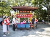 今天鼓楼广场,阜阳市妇女儿童医院义诊宣传现