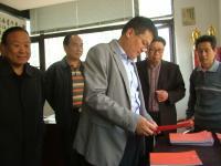 阜阳市卫健委领导到颍东区调研基层老年协会建设