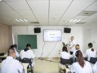 首个教学班迎来开学第一课!